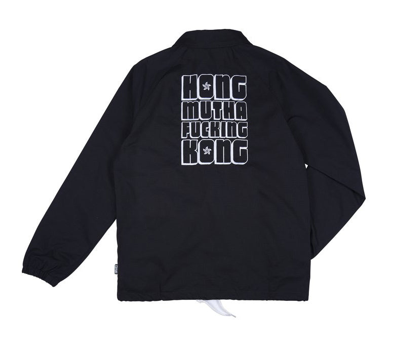 8FIVE2 HMFK Vaca	Coach Jacket	Black Ripstop