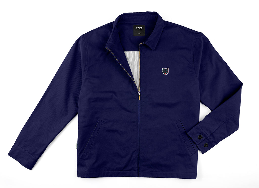 "8FIVE2 ""NEWMAN"" jacket Navy"