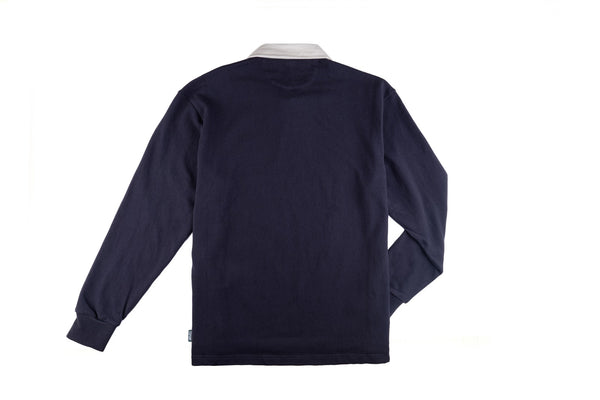 8FIVE2 Boatica L/S Rugby Polo Navy