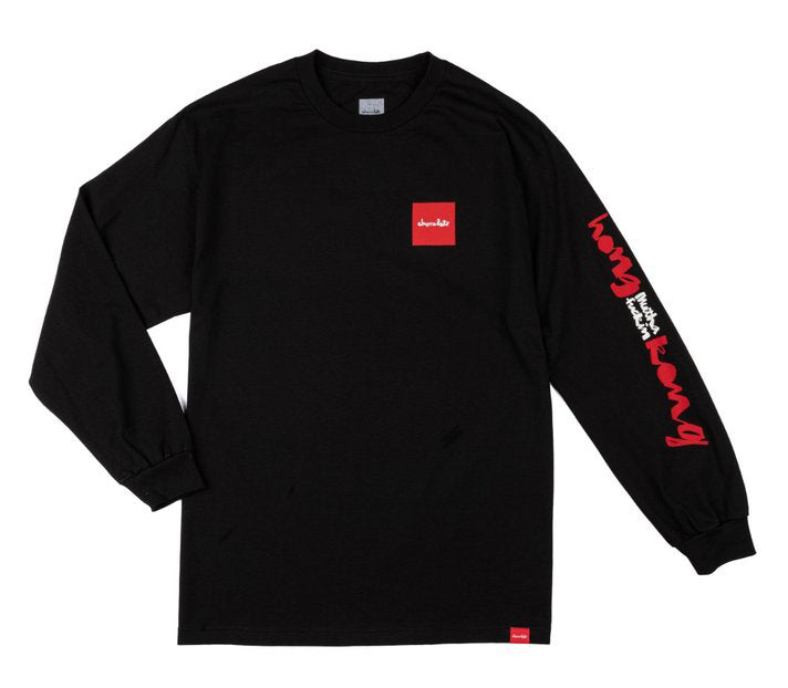 8FIVE2 x Chocolate HMFK Chunk L/S Tee Black