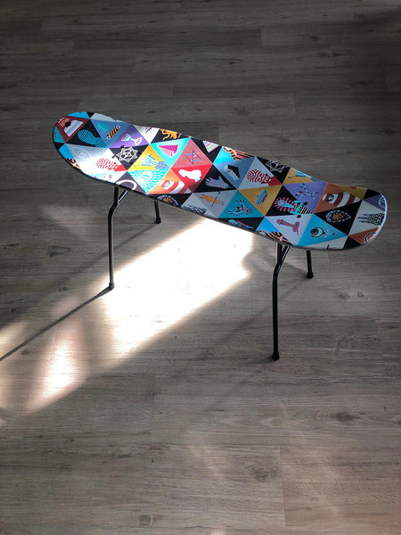 8FIVE2 x PAD ARTWORK Chair/Coffee Table