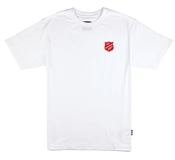 8FIVE2 Army S/S Tee White