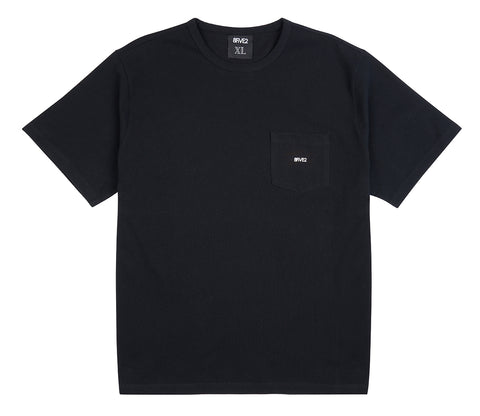 8FIVE2 Balboa S/S Pocket Tee Black