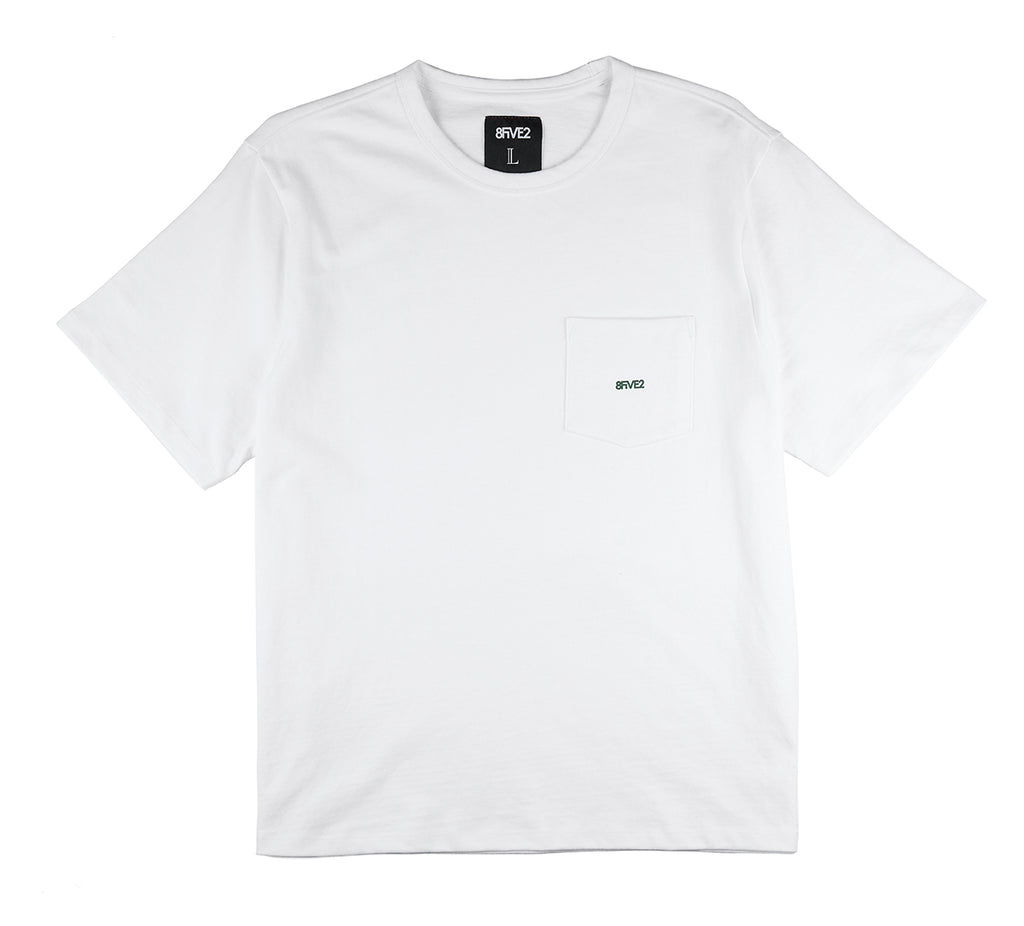 8FIVE2 Balboa S/S Pocket Tee White
