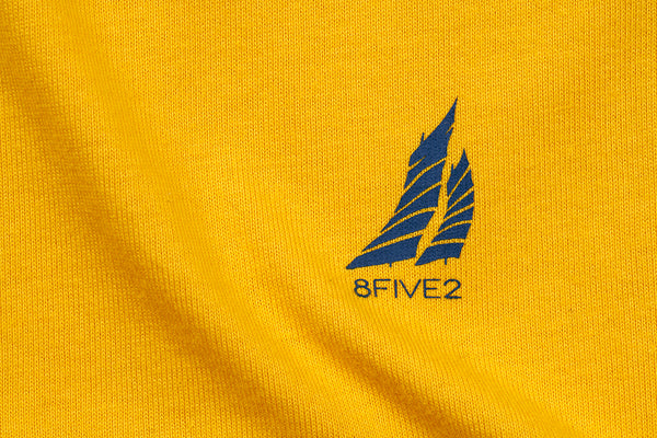 8FIVE2 Boatica S/S Tee Yellow