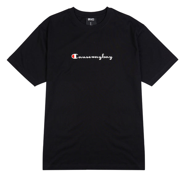 8FIVE2 Champ S/S Tee Black