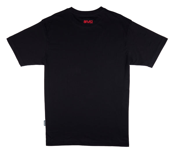 8FIVE2 PKC S/S Tee Black