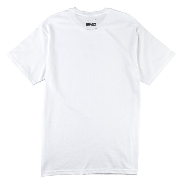 8FIVE2 Rad S/S Tee White
