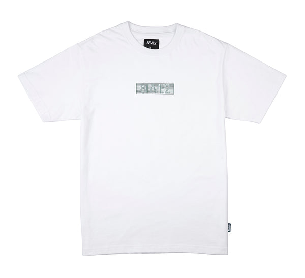 8FIVE2 Snuff S/S Tee White
