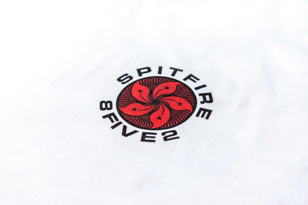 8FIVE2 x Spitfire S/S Tee White