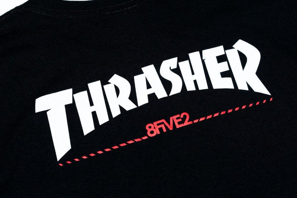 Thrasher / 8FIVE2 SK8 Mag Tee