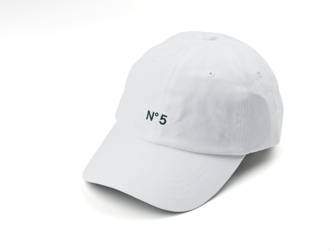 85IVE2 N852 B Cap Curved bill - White