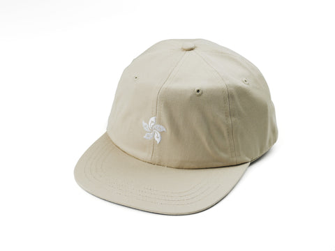 85IVE2 City Emblem A Cap Flat bill - Khaki