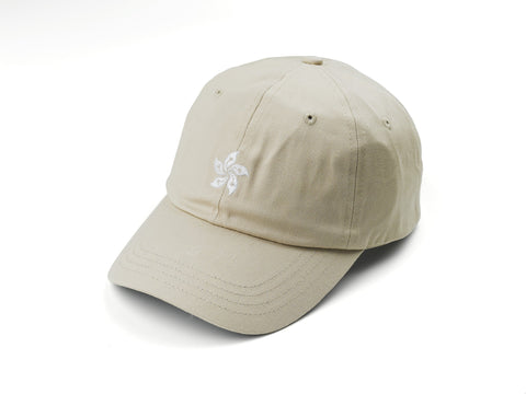 85IVE2 City Emblem B Cap Curved bill - Khaki