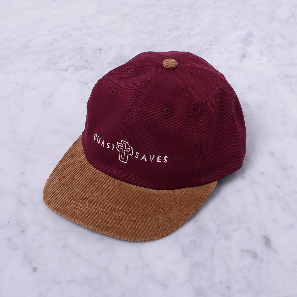 Quasiskateboards Believe 6-Panel Burgundy