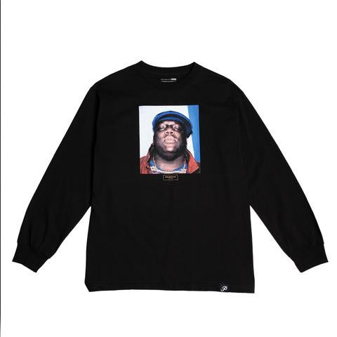 Primitive  Biggie Long Sleeve T-Shirt Black