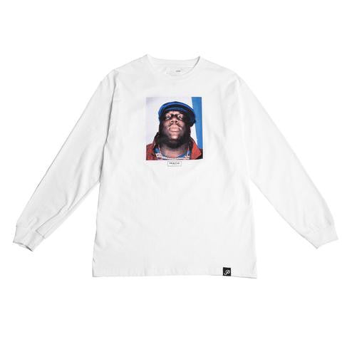 Primitive  Biggie Long Sleeve T-Shirt White