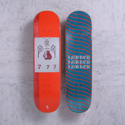 "Quasiskateboards Rust 8.5"" - Red"