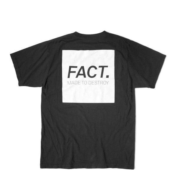FACT Box Logo Faded Black