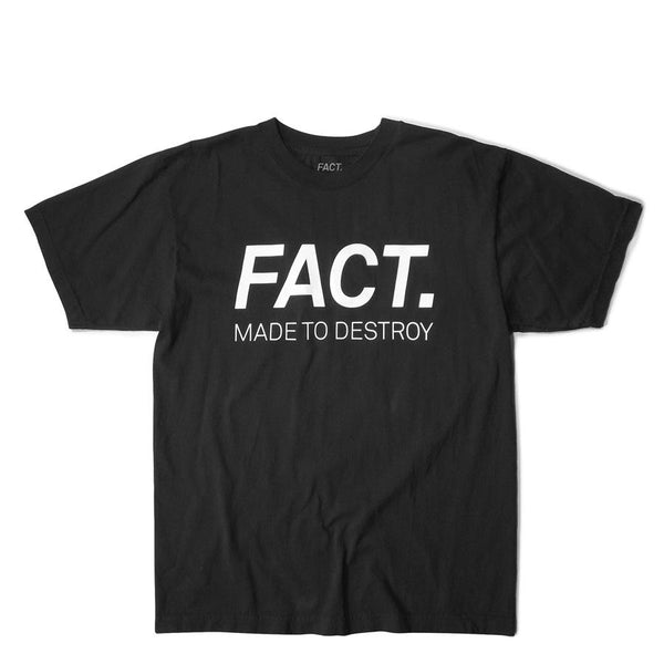 FACT  Logo Type Faded Black