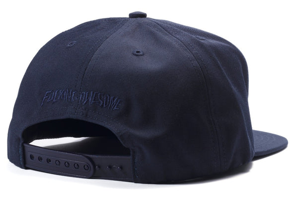 Fucking Awesome Embrace 5 Panel Snapback Cap Navy