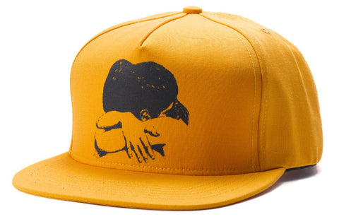 Fucking Awesome Embrace 5 Panel Snapback Cap Gold