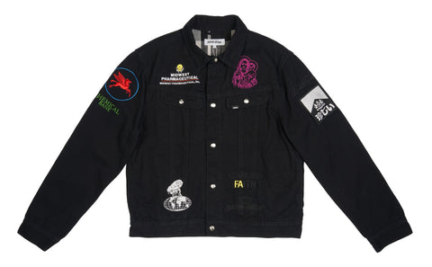 Fucking Awesome Sponsored Jacket Black