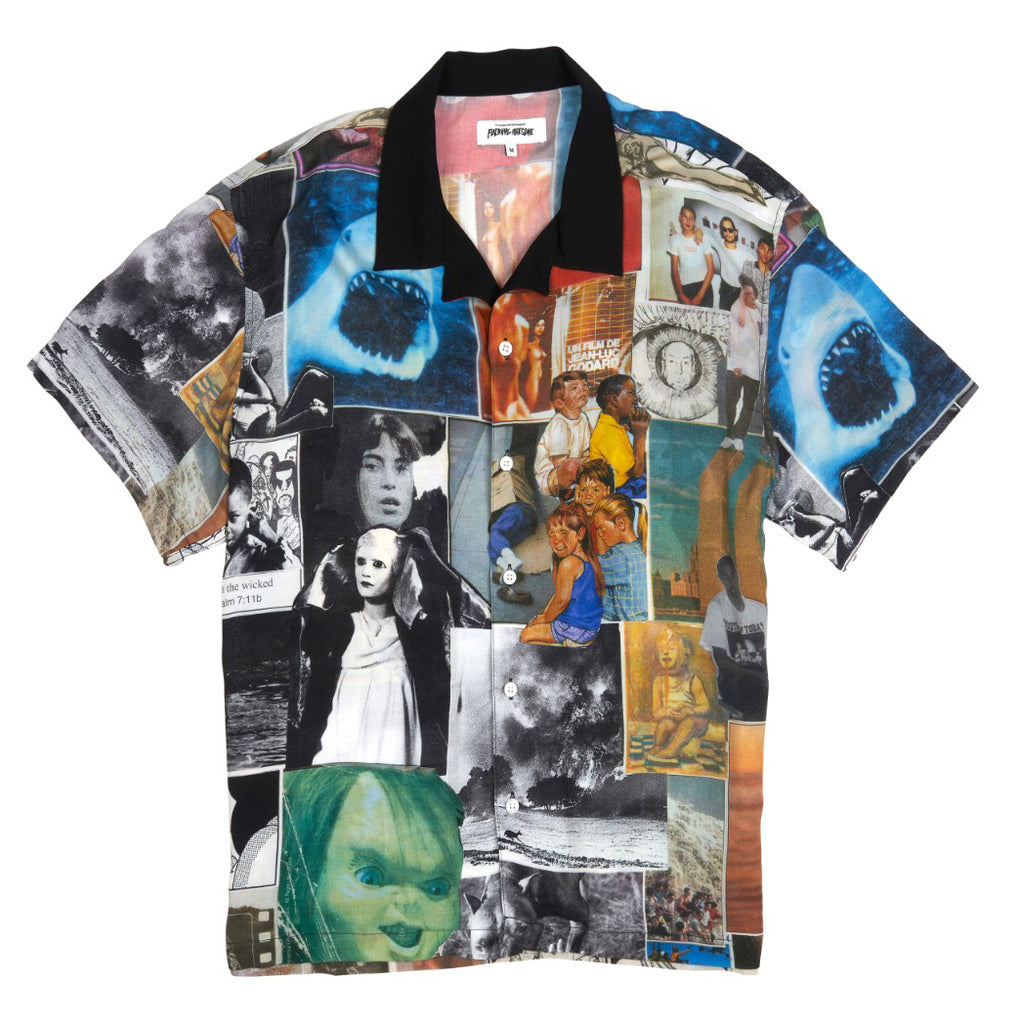 Fucking Awesome Collage S/S Button Up Shirt