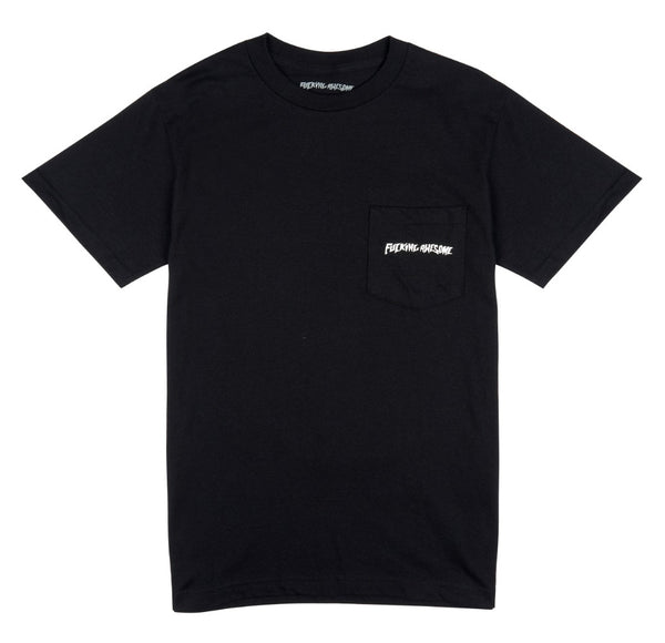 Fucking Awesome Collage Pocket S/S Tee Black