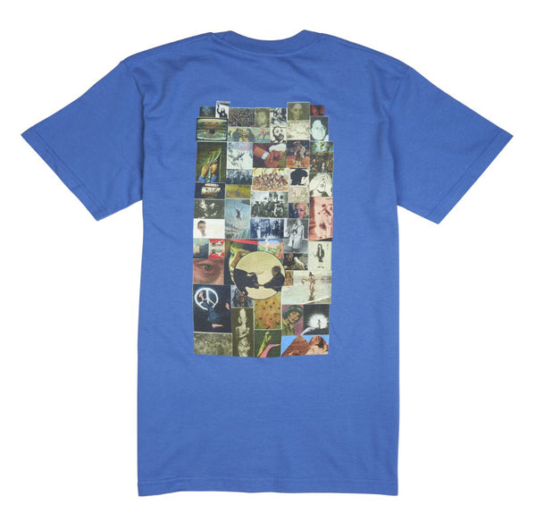 Fucking Awesome Collage Pocket S/S Tee Galapagos Blue
