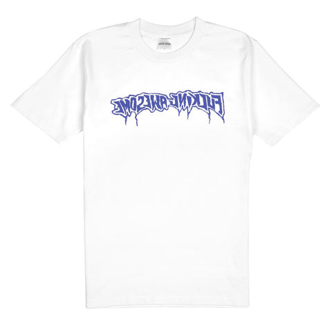 Fucking Awesome Drips S/S Tee White