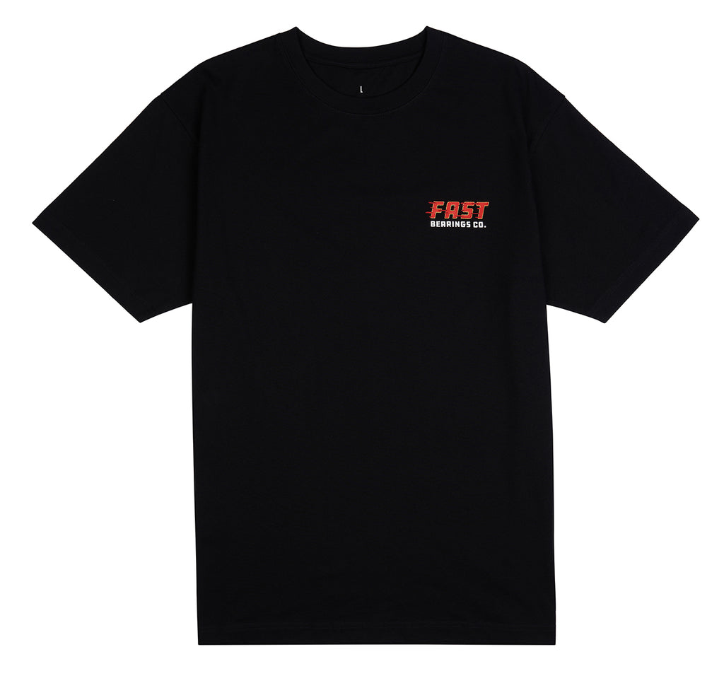 Fast Bearings Co OG Logo S/S Tee Black