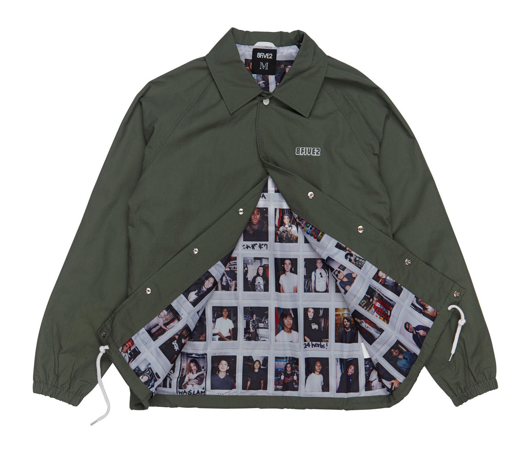 8FIVE2 HMFK VACA RIPSTOP COACH JACKET