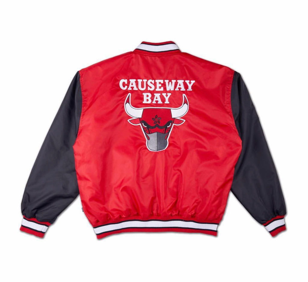 8FIVE2 Bull Stadium Jacket Red/Black