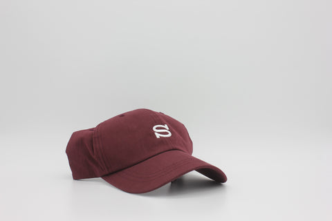 Stussy Cotton Nylon Cap Burgundy