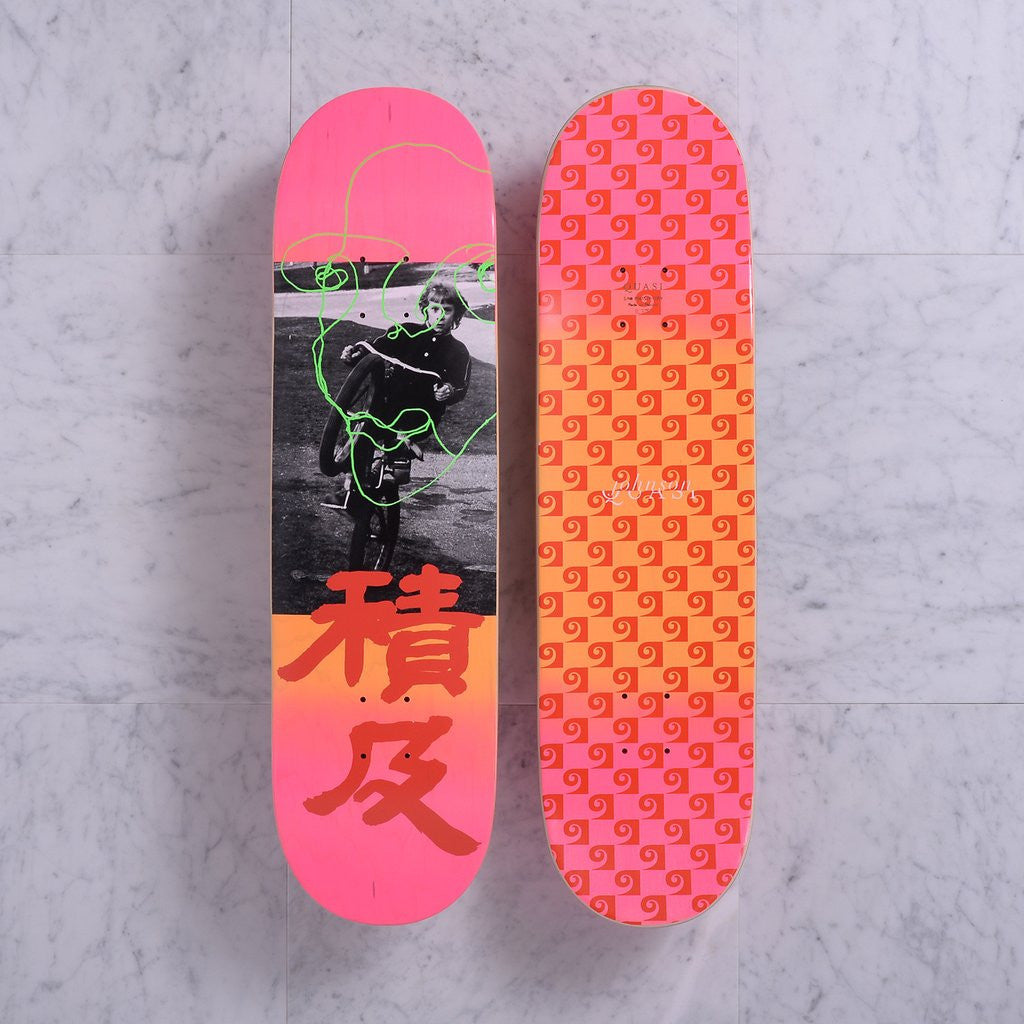 "Quasiskateboards Untitled 8.375"" - Pink"