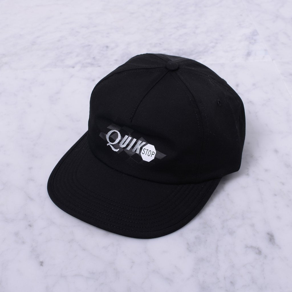 Quasiskateboards Quikstop  5-Panel Black