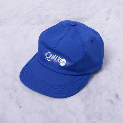 Quasiskateboards Quikstop  5-Panel Royal Blue