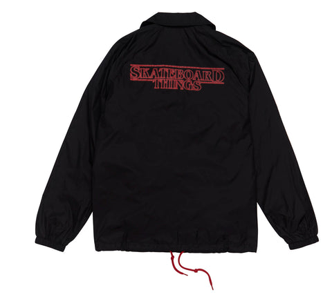 8FIVE2 SKATEBOARD THINGS COACH JACKET
