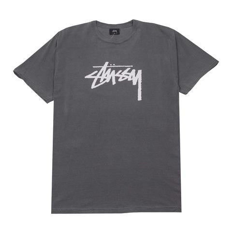 Stussy Stock Pig Dyed Tee - Black