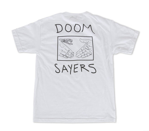 Doomsayers	Snake Shake Pocket Tee White