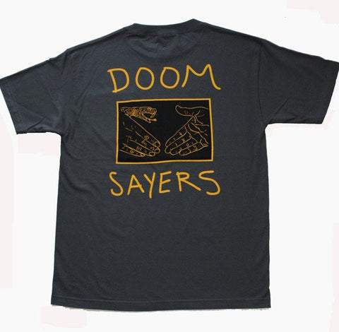 Doomsayers Snake Shake Pocket Tee Charcoal