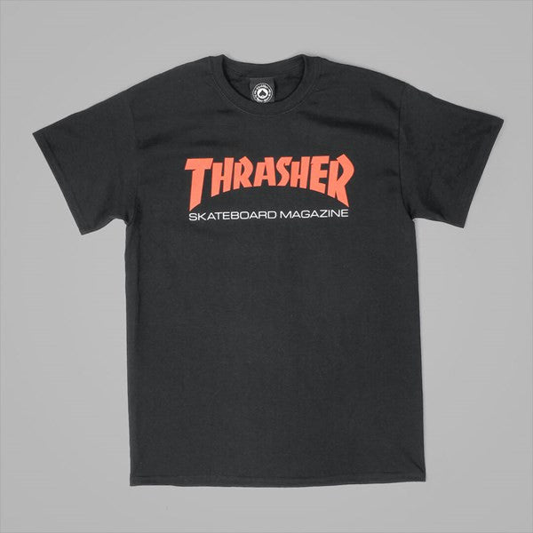 Thrasher two tone  S/S tee Black