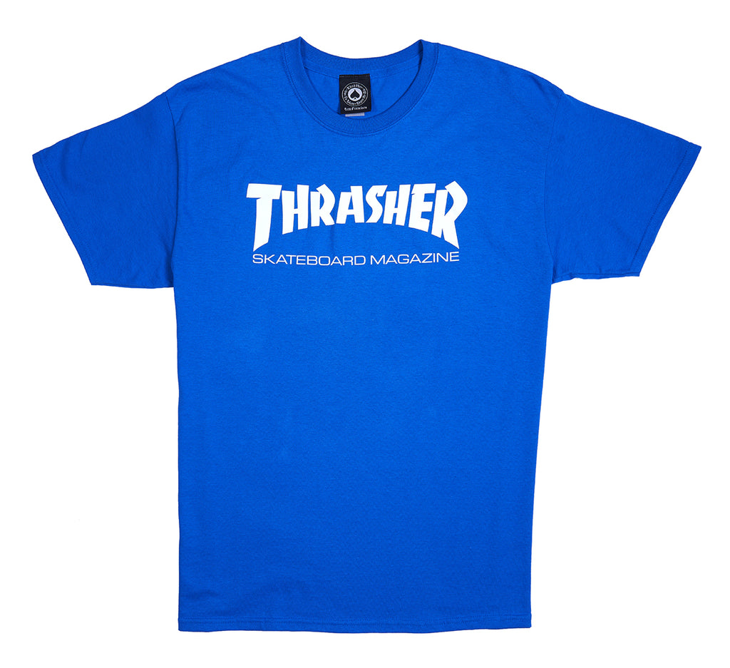 Thrasher Skate Mag S/S Tee Royal
