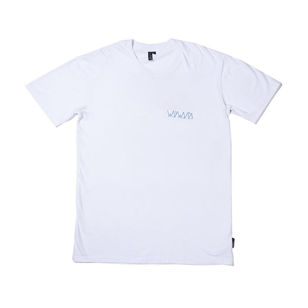 waywardwheels Med Man Tee White