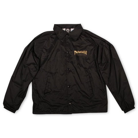 Thrasher Pentagram Coach Jacket - Black