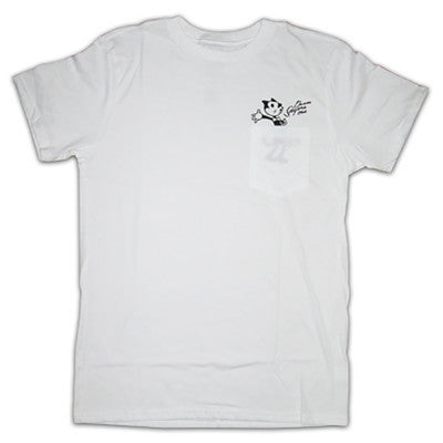 DoomSayers Felix Censored Pocket T-Shirt  White