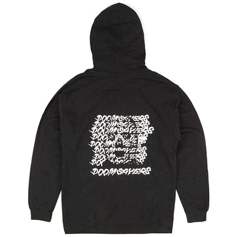 Doomsayer Ghost Face Zip Up Hoodie