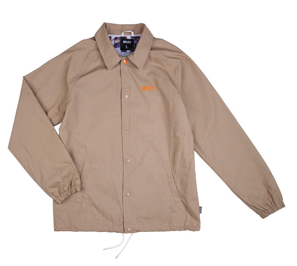 8FIVE2 Deal Ripstop Coach Jacket Khaki