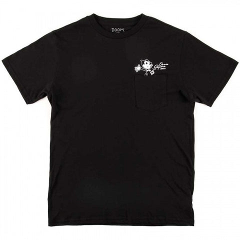 DoomSayers Felix Censored Pocket T-Shirt  Black